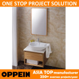 Oppein Fashion Small Bathroom Cabinet Vanity com Spoon Basin (OP13-052-60)