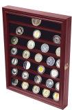 ثني سترة [بين], زرّ, وسام, مجوهرات عرض خشب صندوق