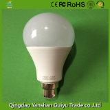 B Base22 15W lâmpada LED com corpo de plástico e alumínio