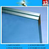 Comercial y Residencial 5 + 9A + 5mm cortina de cristal doble pared de vidrio del edificio con AS / NZS2208: 1996