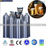 Цилиндр СО2 высокого давления безшовный алюминиевый с утверждением ISO/DOT/Tped/Ce