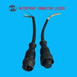 金の製造者PVC/Nylon 4pinはLEDのコネクターを防水する