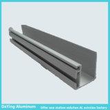Profil en aluminium de couleur d'électrophorèse d'extrusion d'usine en aluminium