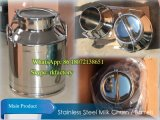 50L Stainless Steel Milk Churn con Hose