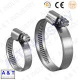 Tipo americano del tubo flexible de acero inoxidable al carbono Clip / abrazadera