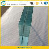 Ultra large 10mm Fer basse en verre feuilleté trempé