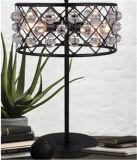 Mesa decorativa interior / lâmpada de mesa com metal para cama ou estudo