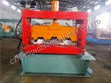 Machines de matériau de construction de machine de feuille de toiture, roulis de paquet d'étage de toiture en métal formant la machine