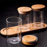 マイクロ景色によってカスタマイズされる瓶のコーヒー砂糖の茶瓶のホーム装飾の瓶