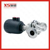 Válvula de diafragma principal pneumática plástica da tri braçadeira do aço inoxidável 316L