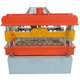 Dach-Fliese-und Wand-Baumaterial-Rolle, die Maschine bildet