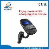 Freisprechauto Bluetooth FM Übermittler mit USB-Auto-Aufladeeinheit