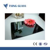 6mm pintado de color de vidrio templado para Panel de presentación de cocina