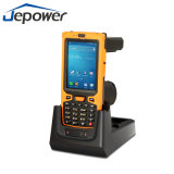 IDENTIFICATION RF tenue dans la main du support Barcode/NFC/UHF de scanner d'IDENTIFICATION RF de Jepower Ht380A