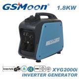 Super compacto silencioso Generador Gasolina Inverter Digital