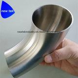 Нержавеющая сталь 304 локтя сварки 90 градусов Unpolished