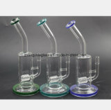 Le verre des filtres du tuyau de fumée de tabac à l tube de verre