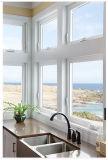 Окно PVC одиночного стекла сползая с дешевым ценой