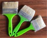 Cerda pura del cepillo de pintura con la maneta de madera de la fibra sintetizada de Pet/PP