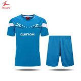 [هلونغ] عامة كرة قدم لباس متّسقة [أم] ملابس رياضيّة تصميد طباعة كرة قدم جرسيّ لأنّ عمليّة بيع