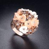 De nieuwste Hars en het Email namen de Gouden Geplateerde Ring van de Vinger van Juwelen toe