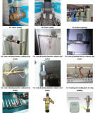 Acier inoxydable motorisé électrique à trois voies 304 de robinet à tournant sphérique de DC12V 3 pour le traitement des eaux