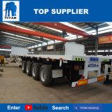 Véhicule de titan - camions de 40FT et remorques à plat de camion de paroi frontale de remorques