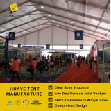 grandi tende della tenda foranea di 50X60m con le pareti di vetro