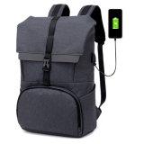 Novo carregamento USB impermeável viajando mochila Nij Iiia Bulletproof Escola Saco para computador portátil