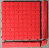 De poly Tegels van pvc van de Rib van Polyprolene van het VinylChloride Plastic voor de Tegels van pvc van de Garage, Tegels van pvc van de Garage van het Kussen van de Bevloering van de Tegel van de Garage de Met elkaar verbindende