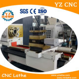 Fanuc CNC 선반 편평한 침대 유형 선반 CNC 제조자 자동적인 도는 중심 선반 기계