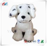 Friendly White Spot de chiot de chien jouet souple