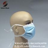 N95 mascherina medica del fronte chirurgico a gettare dell'infermiera di modo delle 3 pieghe con il legame
