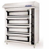 De Capaciteit van de Oven van het Baksel van het Brood van het Gas van de Afzet van de fabriek 3 Dekken 9 Dienbladen