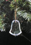 Орнамент шкентеля кристаллический стекла рождественской елки вися