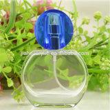 Cristal de gama alta Perfume polaco botellas de vidrio con tapa de cristal, la fragancia en Spray botellas de vidrio