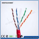 Проверка компании Fluke 23AWG 0.58мм неизолированной медью сетевой кабель UTP кабель CAT6