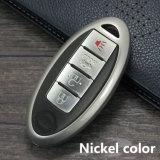 Kc_N01 Fashion Nouvelle voiture clé en métal couvertures de cas pour Nissan