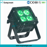 Im Freien RoHS DMX 4 15W Ostar RGBW LED Aluminiumvierradantriebwagen-Farbe LED NENNWERT Licht