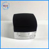 Recipiente de cosméticos 1oz jarra de cosméticos de plástico acrílico