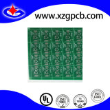 De groene Raad van de Kring van PCB Soldermask met 1.2mm 2 Laag