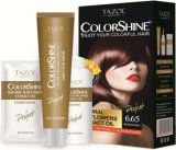 Tazol Cosmetic Permanent Hair Dye (60ml + 60ml + 10ml)