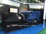 Mtu тепловозного генератора резервный 1800kw 2250kVA Mtu 1640kw 2050kVA Германии