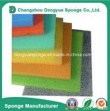 Filtro de la lluvia el uso de encuadernación de célula abierta filtro anti-polvo grueso esponja