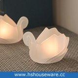 White Swan Copo suporte para velas