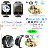 3G WiFi 1.2g verdoppeln Kern-intelligente Telefon-Uhr mit Kamera Q18plus