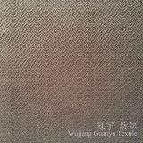 Tissu métallisé gravé en relief de polyester de T/C de velours pour le sofa