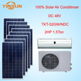 climatiseur solaire de C.C de 18000BTU 48V, climatiseur actionné solaire de 100%