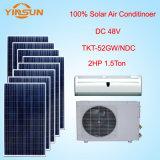 condizionatore d'aria solare di CC di 18000BTU 48V, condizionatore d'aria autoalimentato solare di 100%
