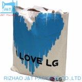 Il sacchetto di Tote personalizzato della tela di canapa del cotone, promozione dei sacchetti del cotone, ricicla i sacchetti di Tote organici del cotone